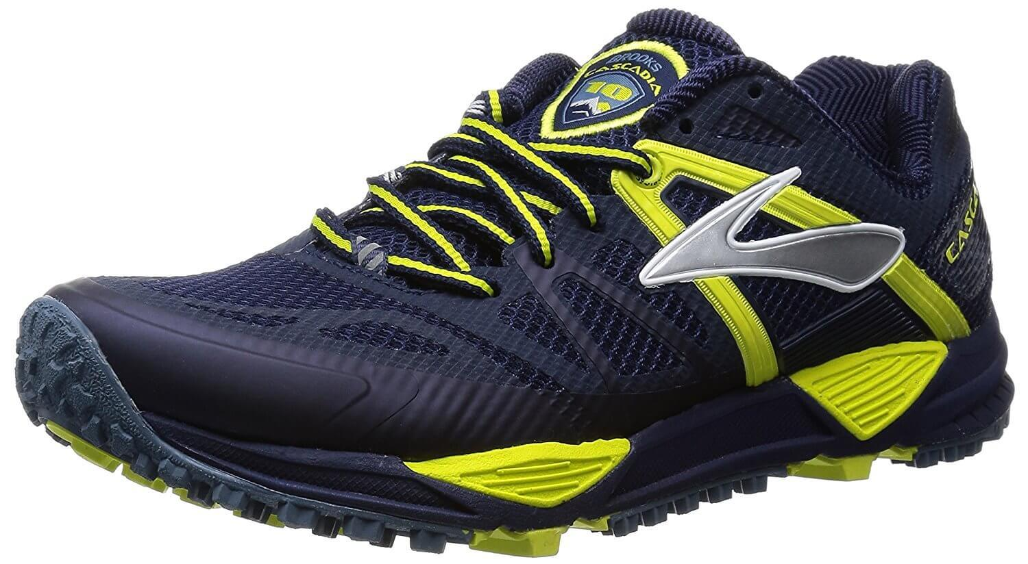 the Brooks Cascadia 10 is a dynamic trail running shoe that is stylish and comfortable