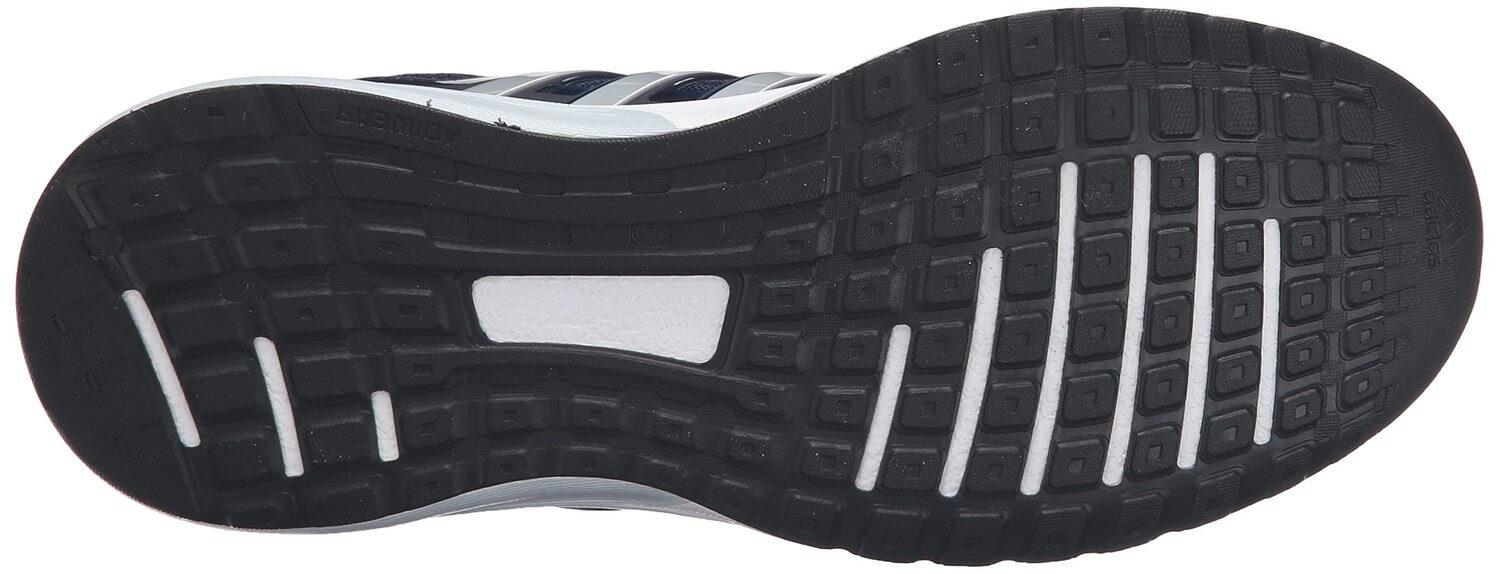 The Adidas Performance Galaxy Elite's outsoles are terrific for use indoors.