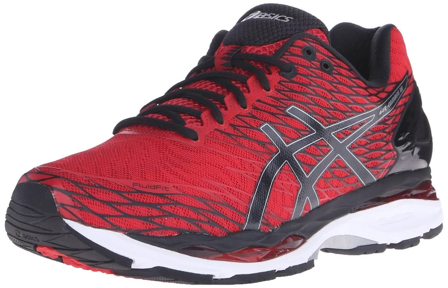 The Asics Gel Nimbus 18 features a powerful combination of cushioning and adaptability.