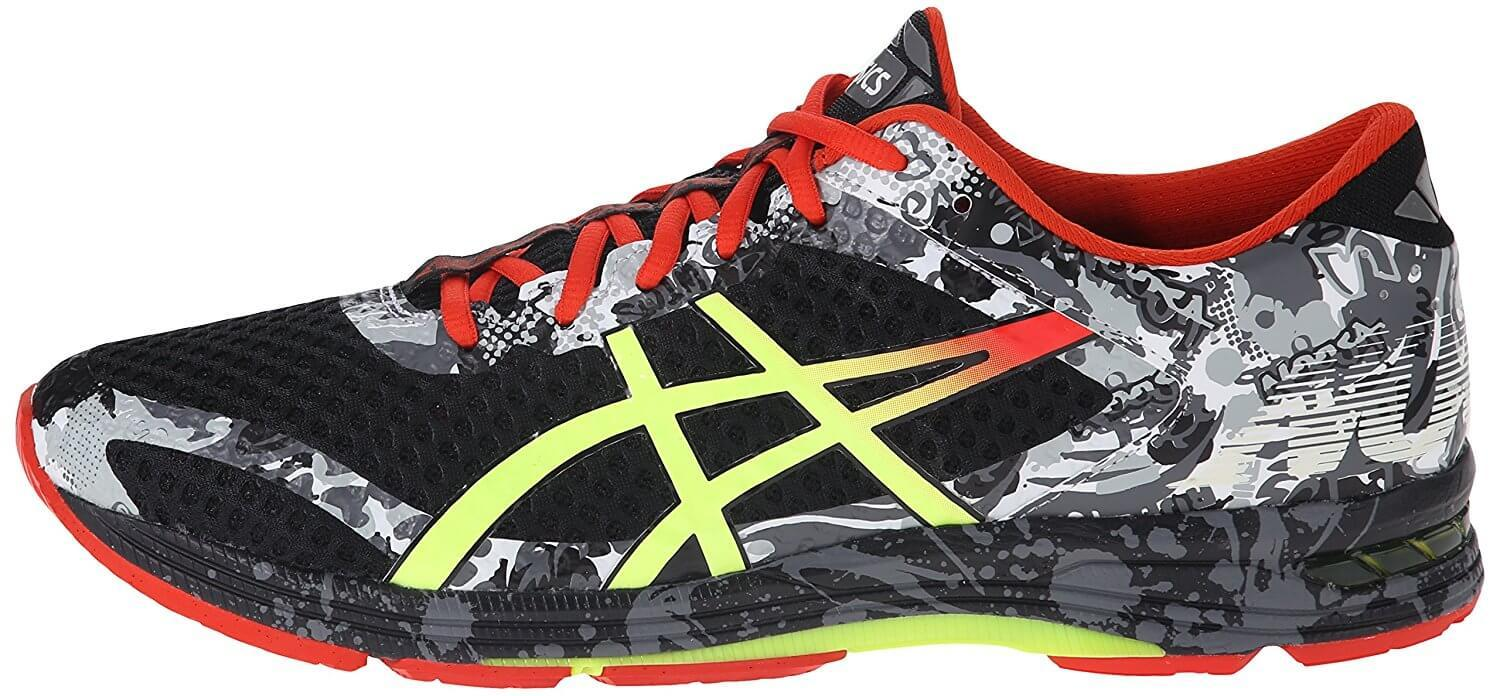 the Asics Gel Noosa Tri 11 is a stylish, eye-catching mid-stability running shoe