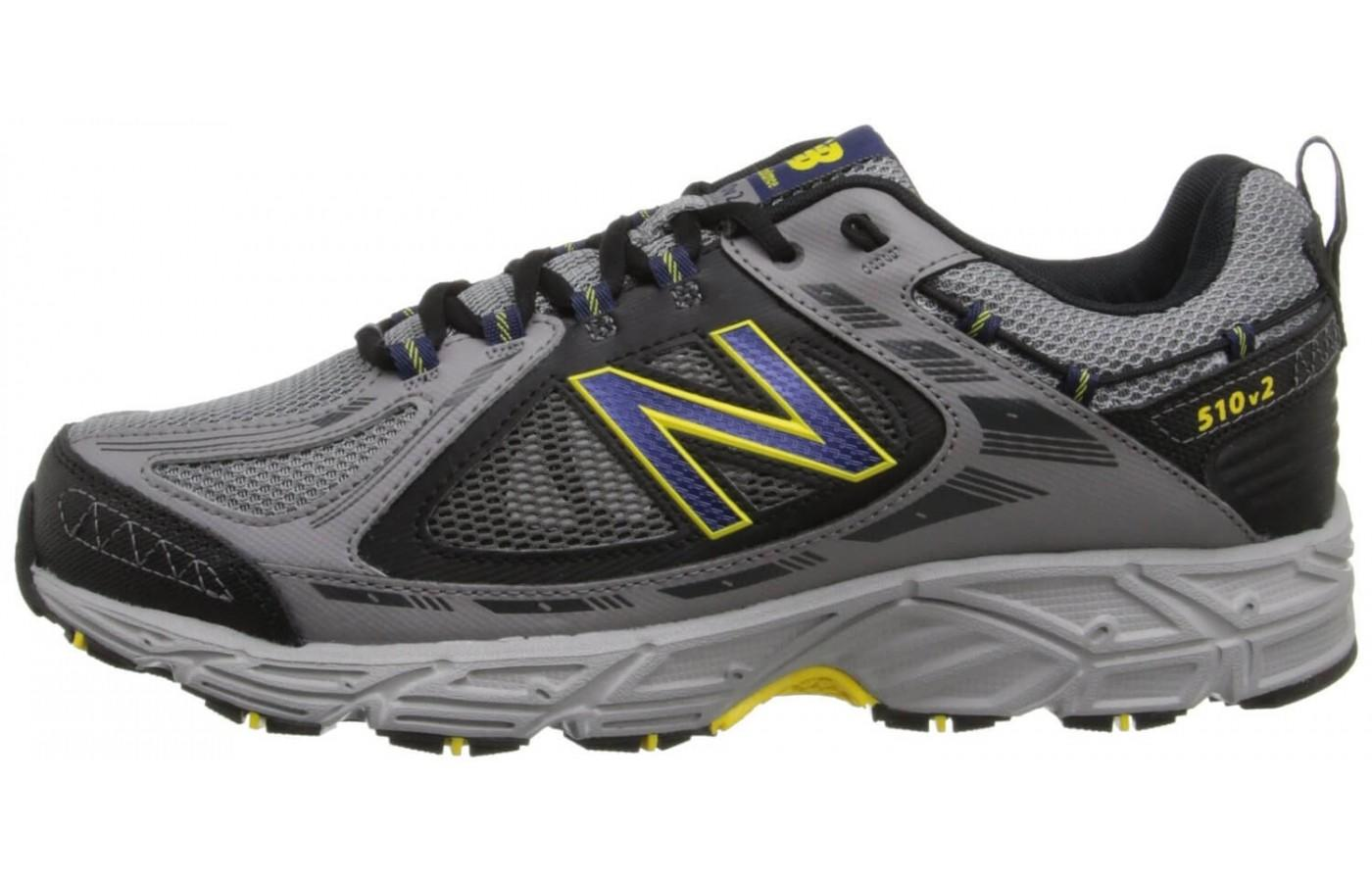 With an emphasis on function over form, the New Balance MT510 is a bit of an eyesore.