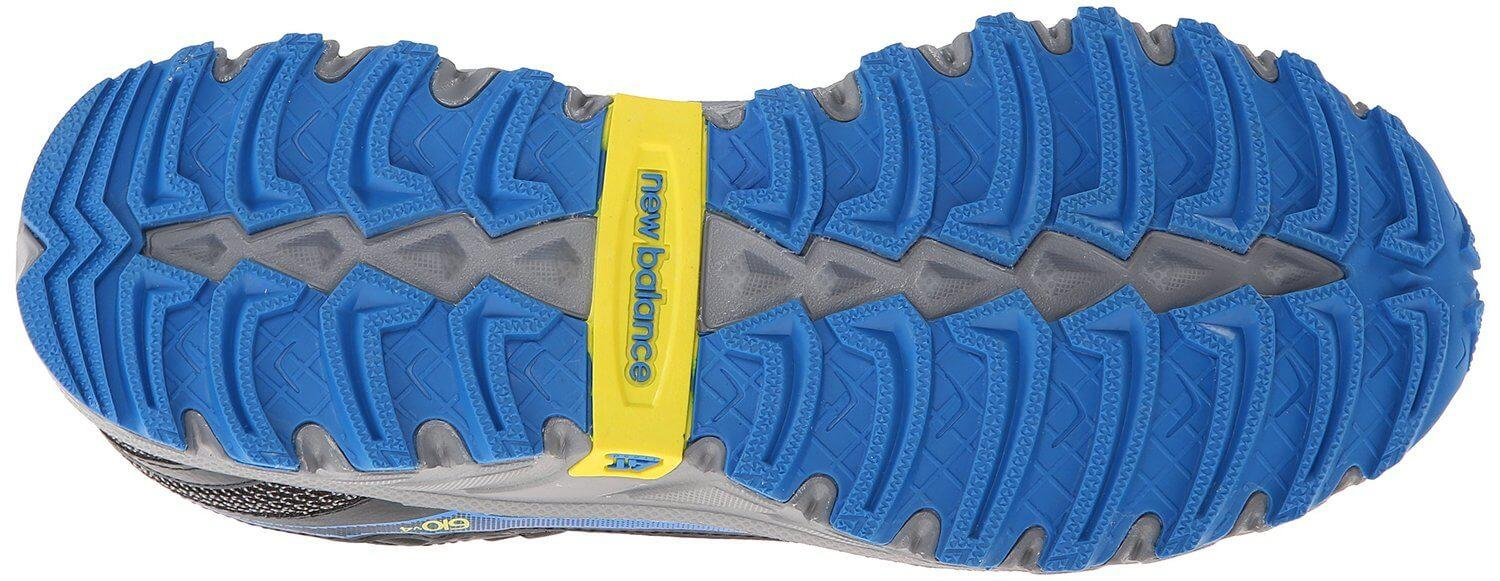 the outsole of the New Balance 610 v4 features tenacious traction and great flexibility