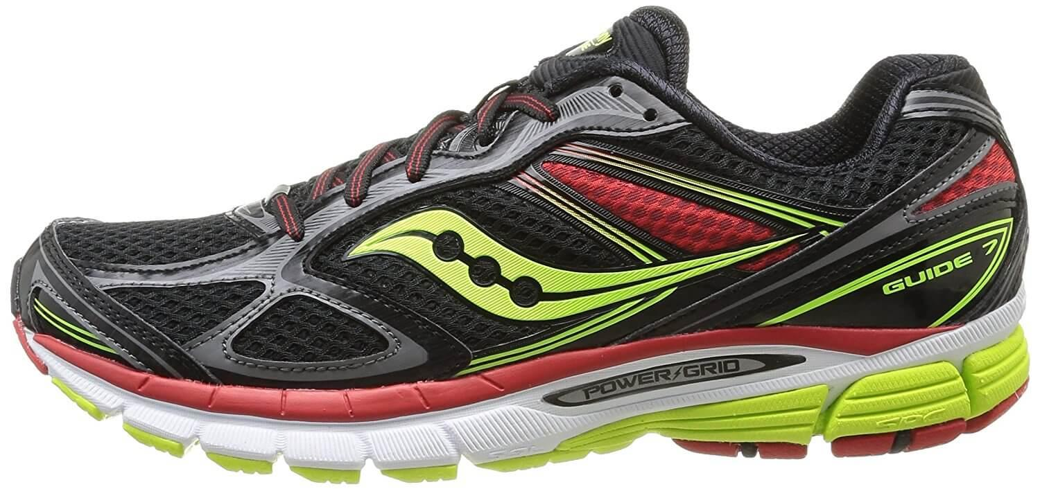 While not the most stylish, the Saucony Guide 7 does offer a decent level of fashion.