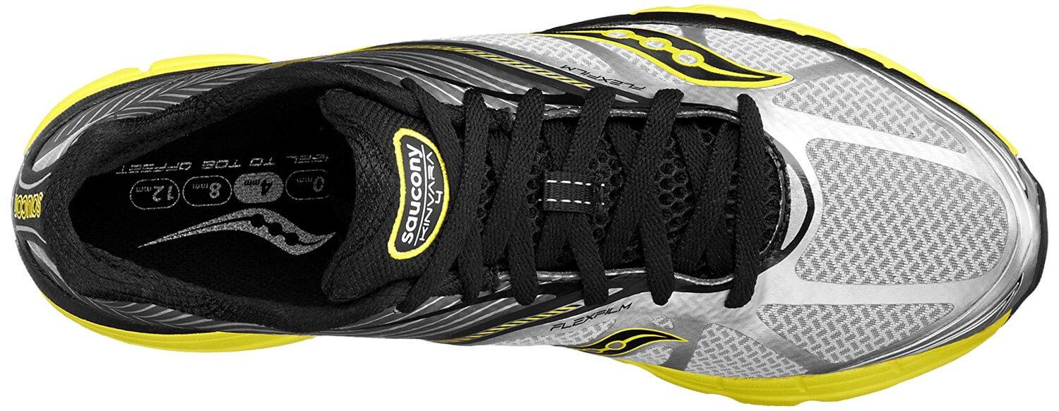 the upper of the Saucony Kinvara 4 is breathable and flexible for a comfortable, cool, and dry ride