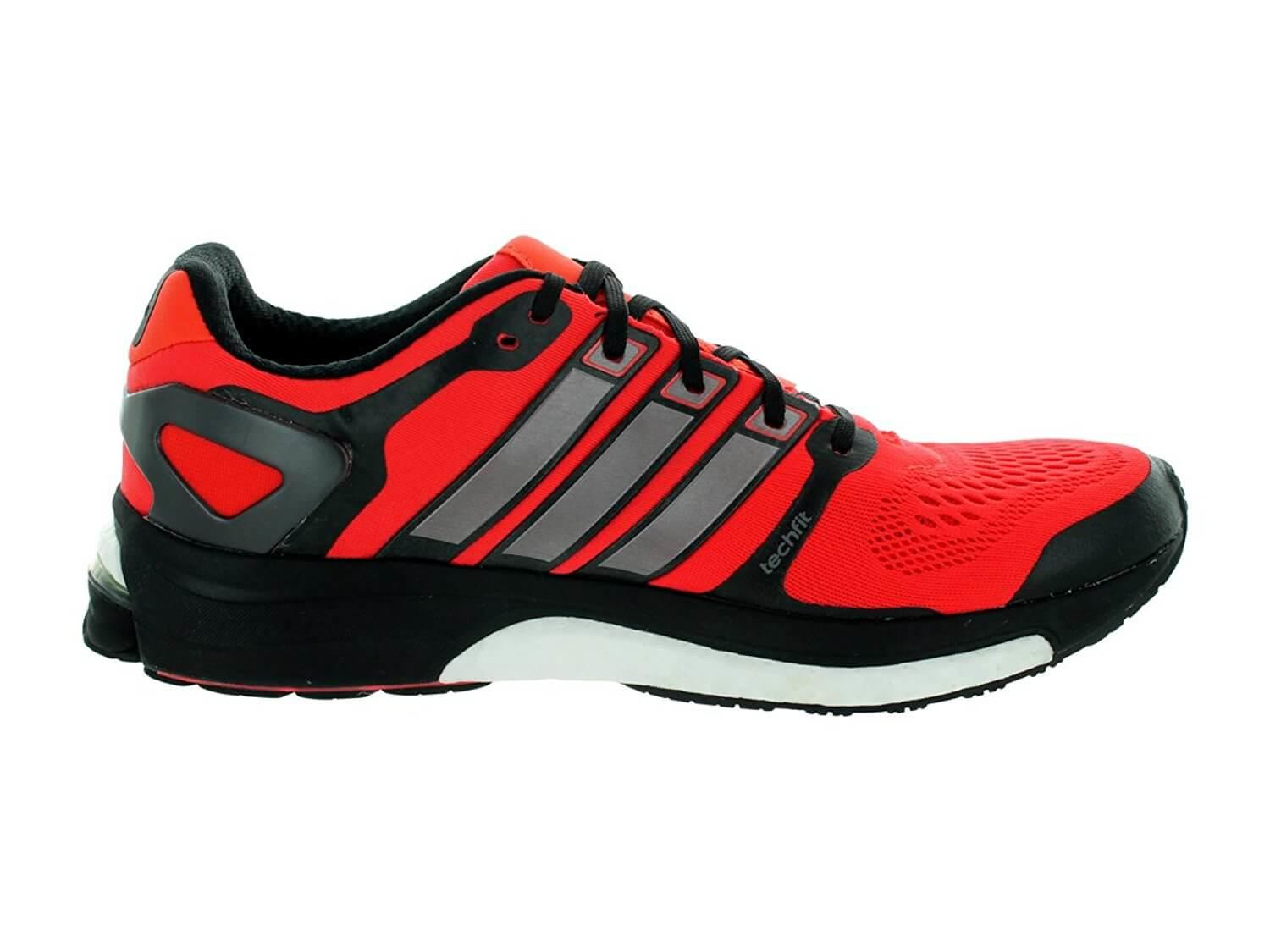the low profile of the Adidas Adistar Boost allows for a great freedom of movement during a run