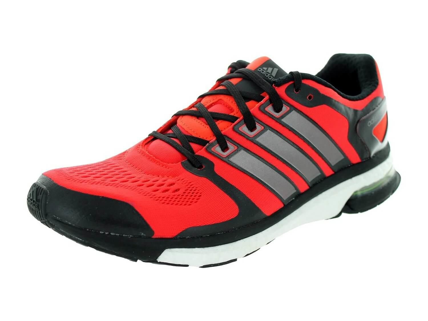 the Adidas Adistar Boost features great cushioning, flexibility, and responsiveness