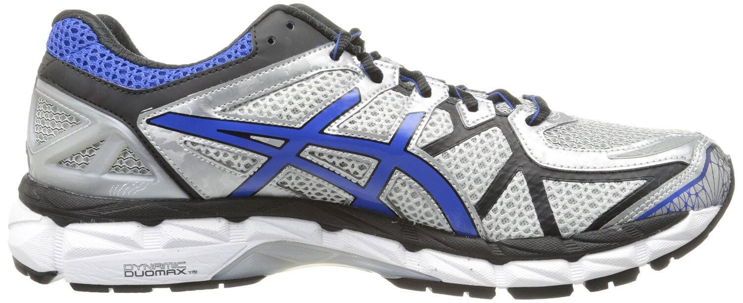 The Asics Gel Kayano 21 derives its namesake from gel cushioning added to the midsole.
