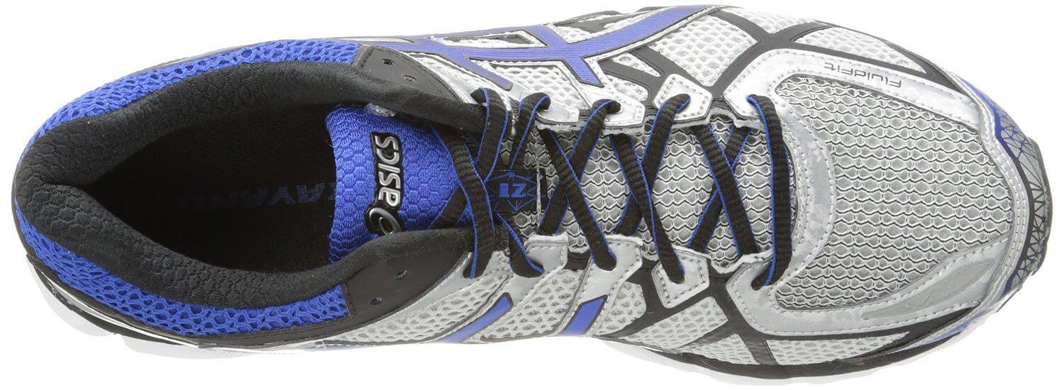 Although not the most flexible, the Asics Gel Kayano 21 provides a comfortable fit and high breathability.