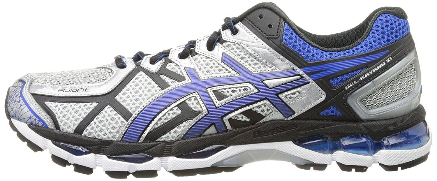 A utilitarian style and limited color options make the Asics Gel Kayano 21 more of a function over form shoe.