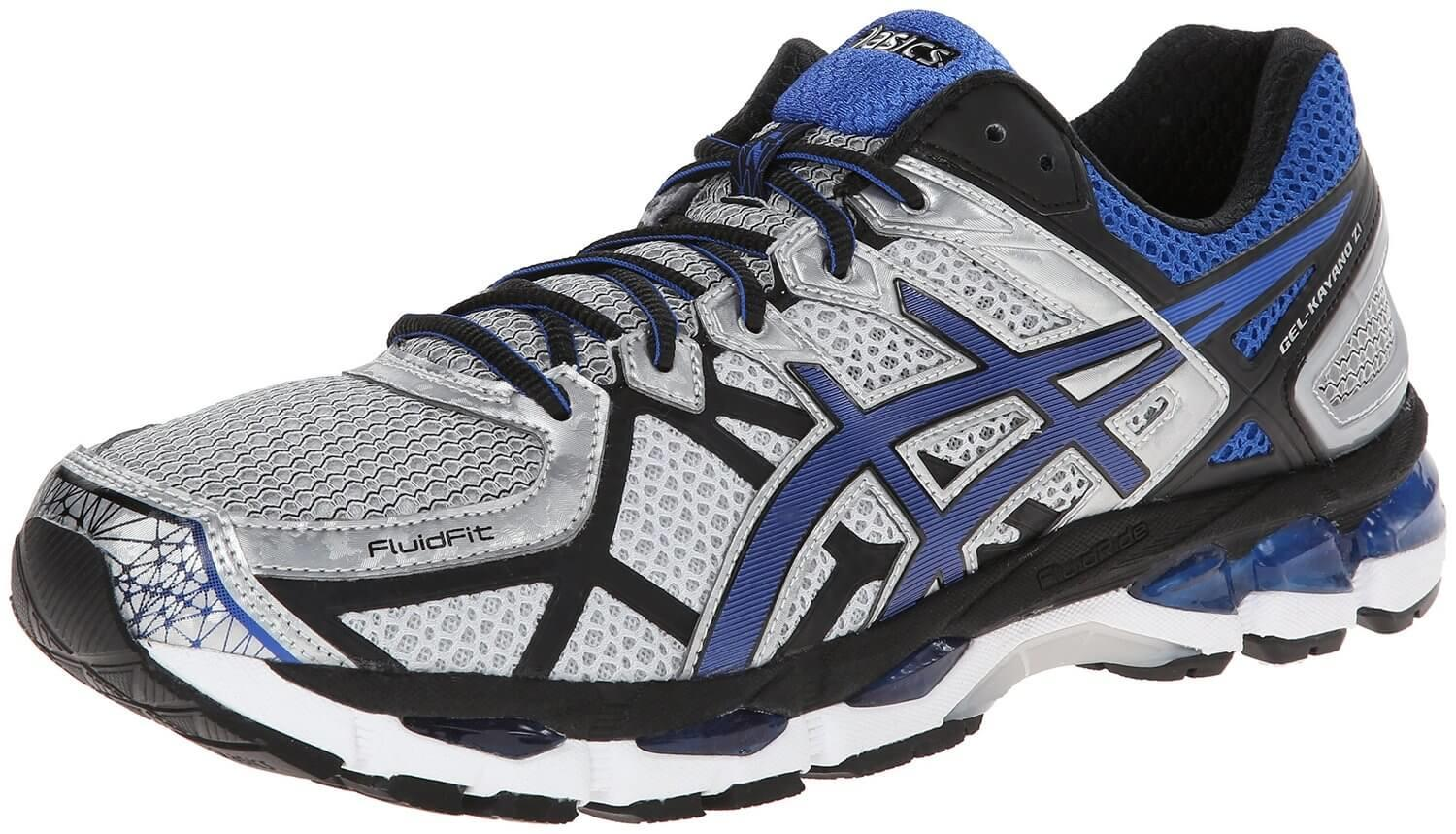 The Asics Gel Kayano 21 provide high comfort and stability through its clever design.