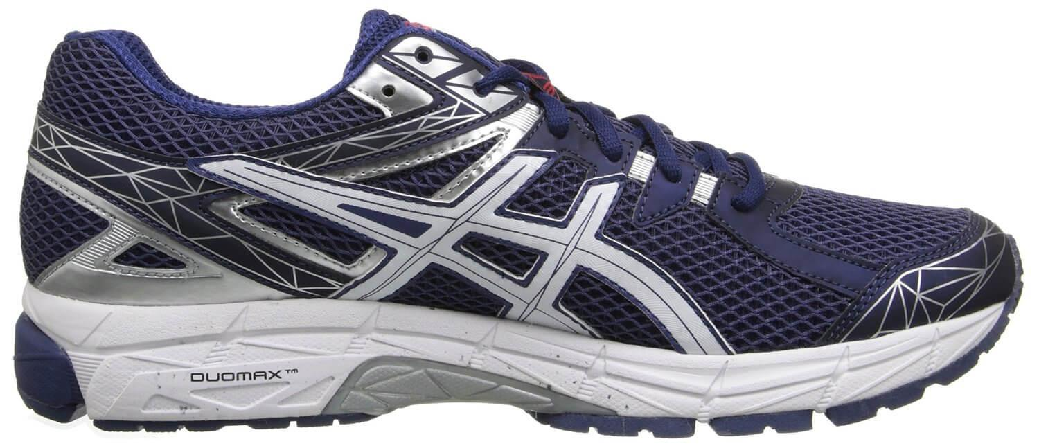 A DuoMax Support System placed in the midsole of the Asics GT-1000 3 helps with pronation.
