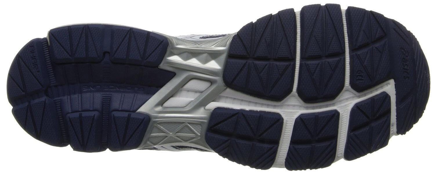 AHAR rubber was used for the Asics GT-1000 3's outsole.