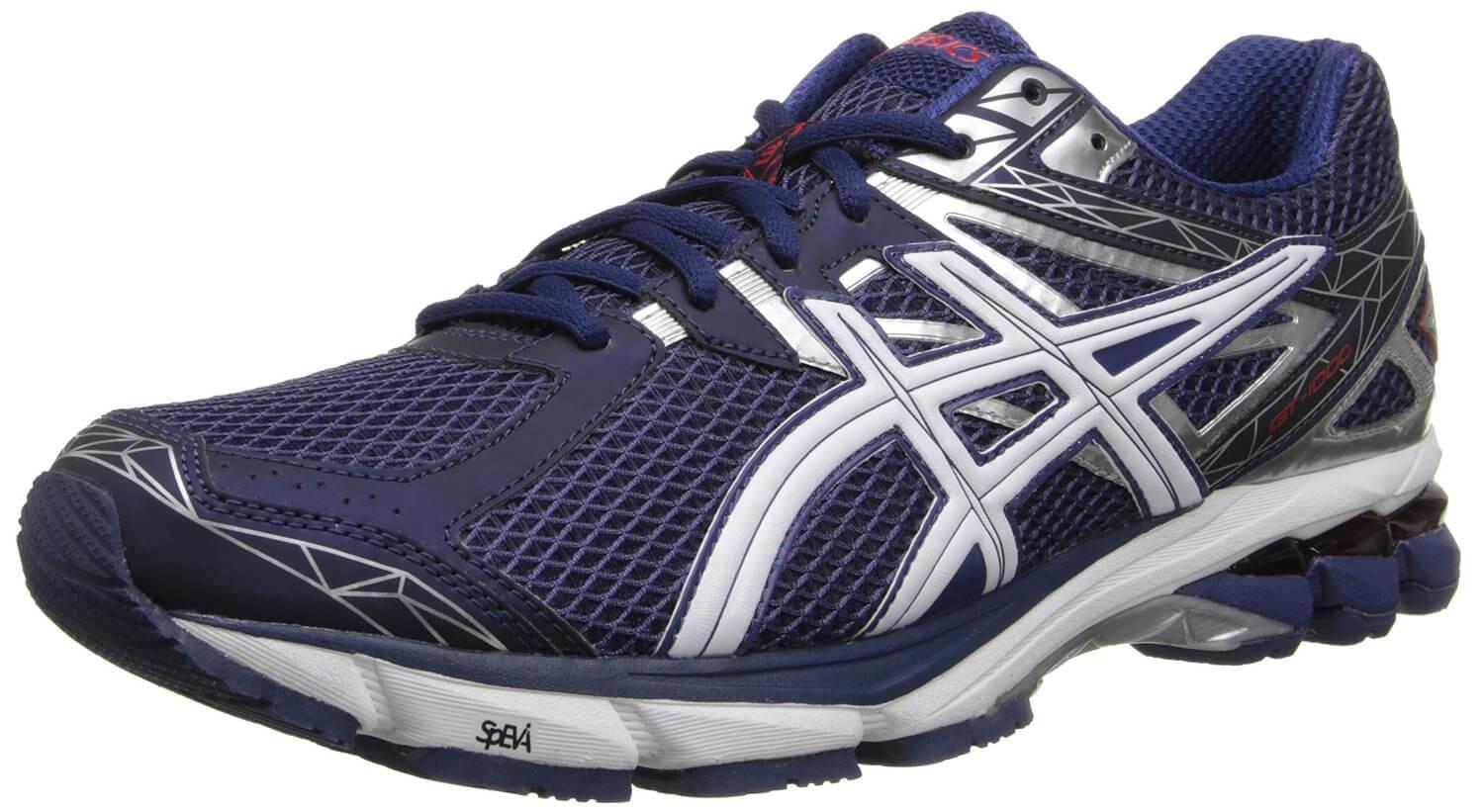 The Asics GT-1000 3 is a high quality shoe excellent for running long distances.