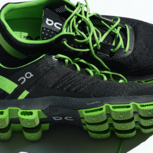 green-running-shoes