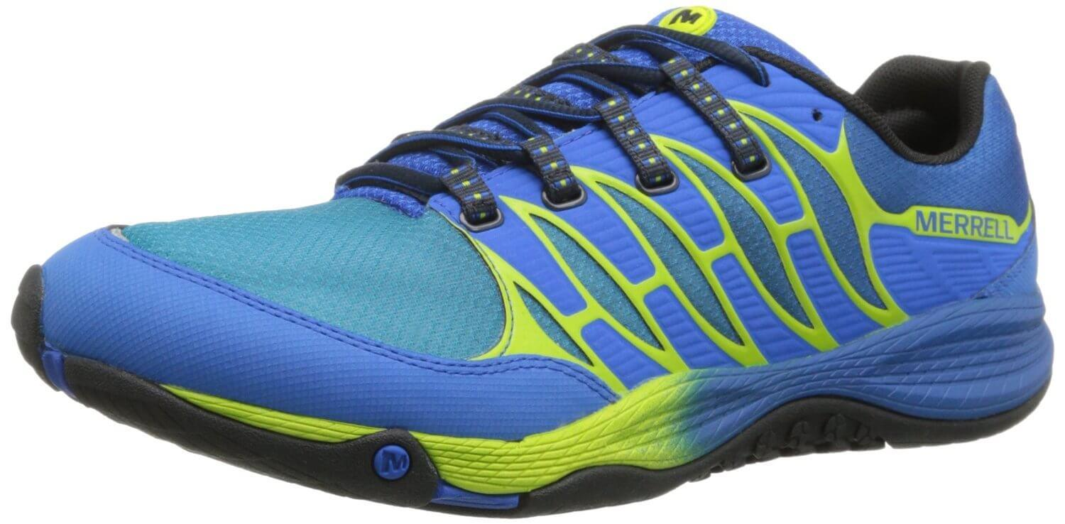 the Merrell AllOut Fuse is a road-to-trail hybrid shoe for runners looking to take their exercise off-road