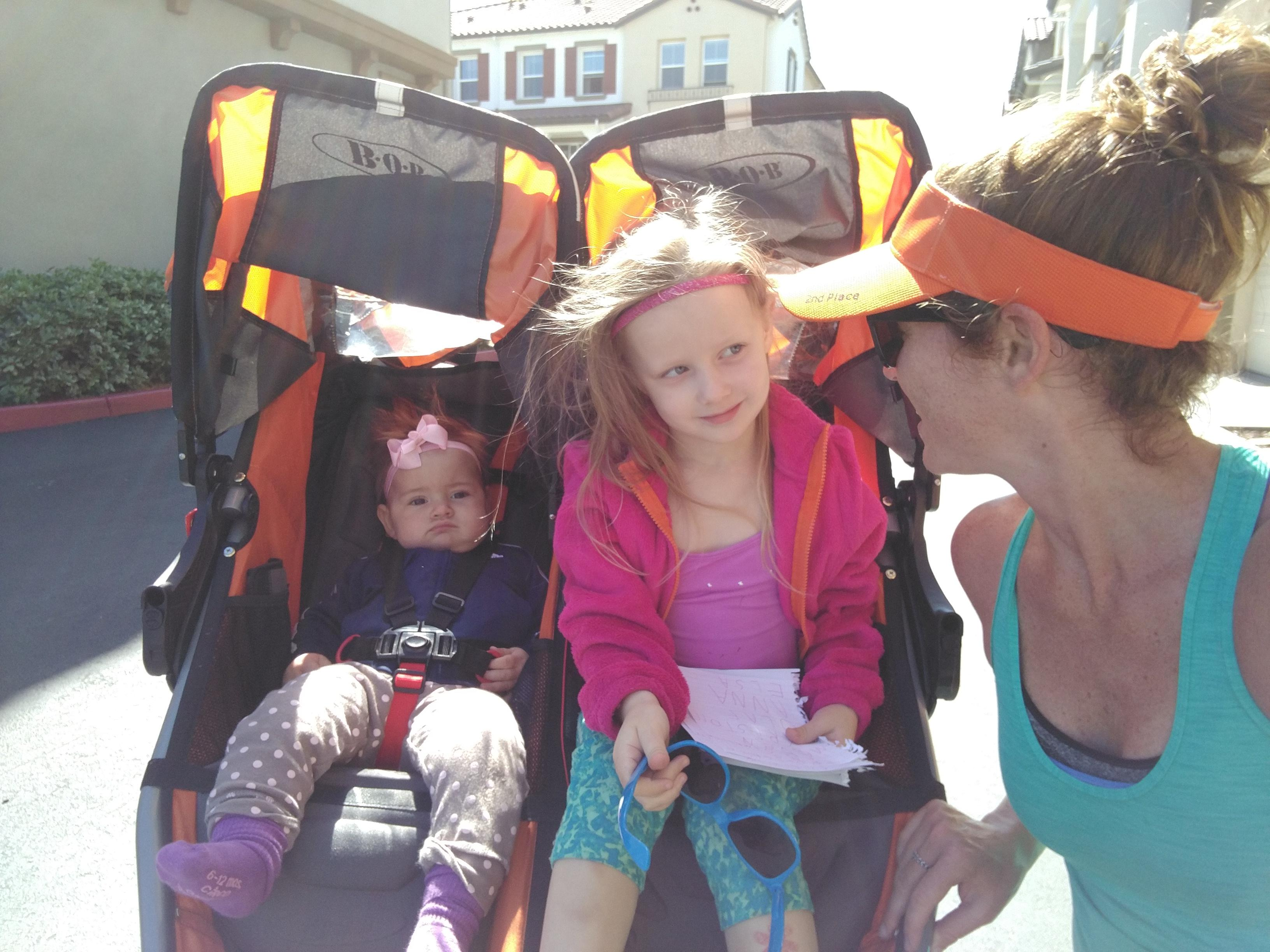 double stroller runs = double the workout gains?!
