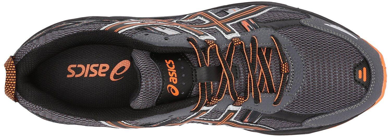 the upper of the Asics Gel Venture 5 is much more breathable than many comparable trail-running shoes while also providing a good amount of protection
