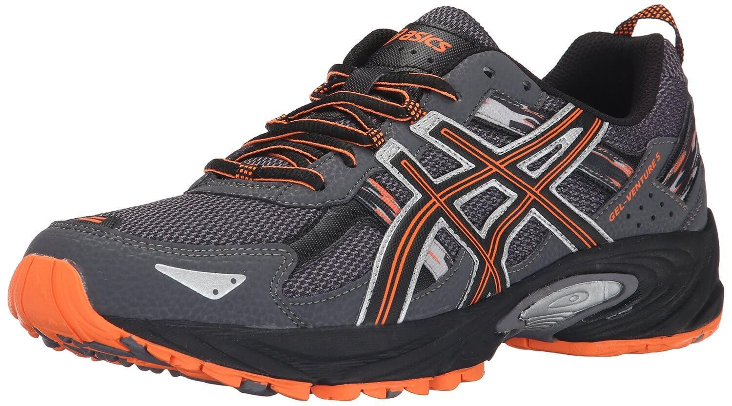 the Asics Gel Venture 5 is a low-cut trail running shoe that offers a good amount of protection and reliable traction