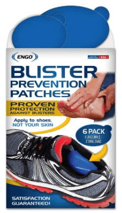 ENGO Oval Blister Prevention Patches