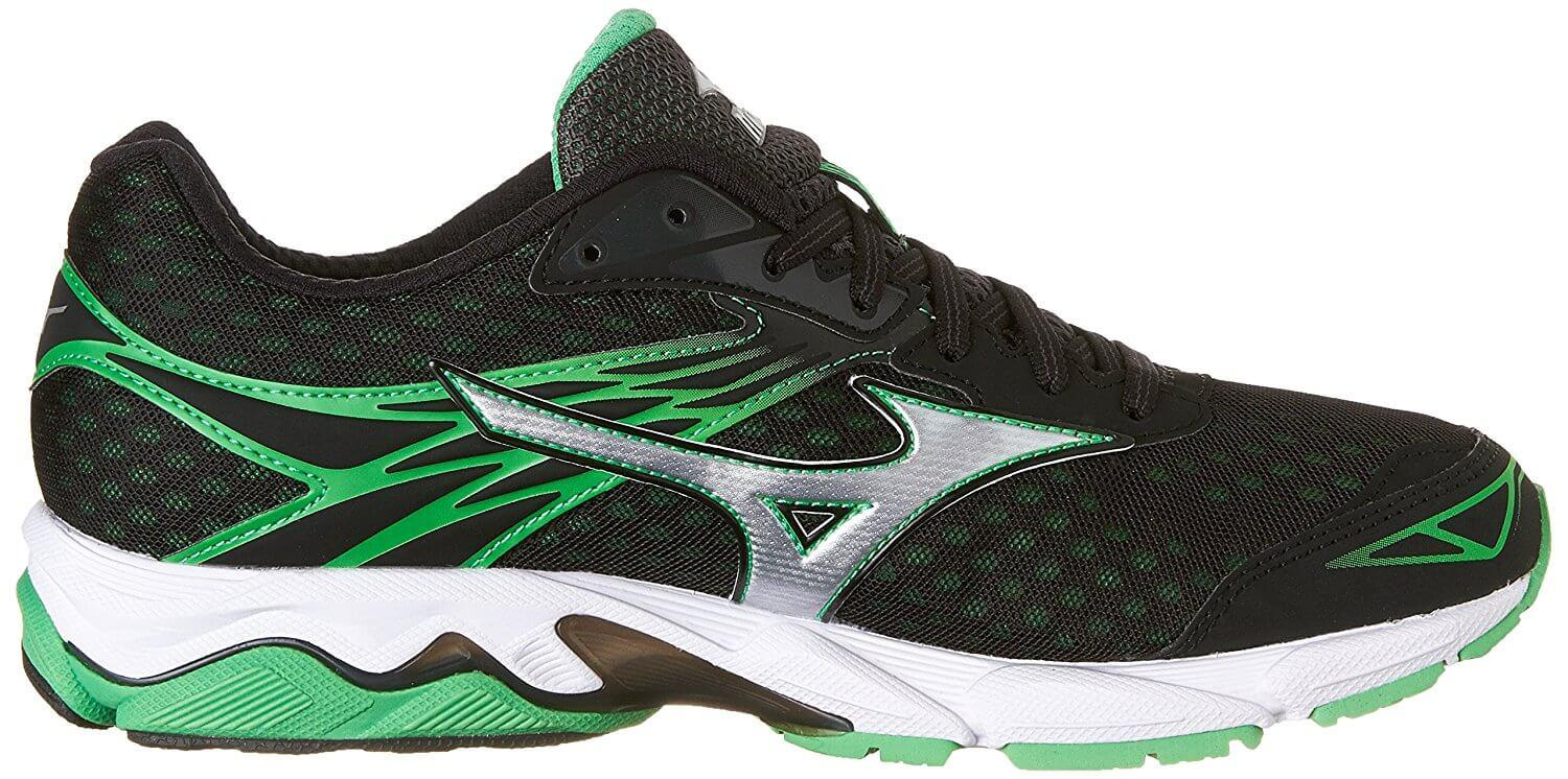 Mizuno used their proprietary u4ic material for the construction of the Wave Catalyst's midsole.