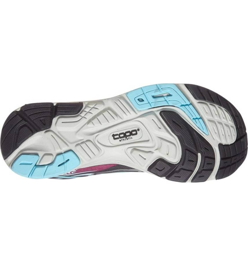 The outsole of the Topo Athletic Tribute is more durable than many other minimalist running shoes.