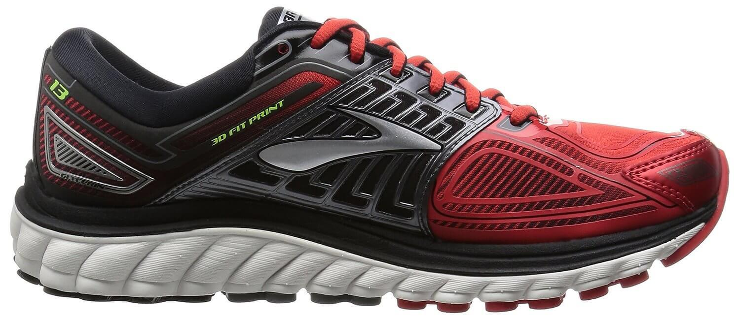cd8f5fb1875 ... The Brooks Glycerin 13 has a Super DNA midsole that provides 25% more  cushion than ...
