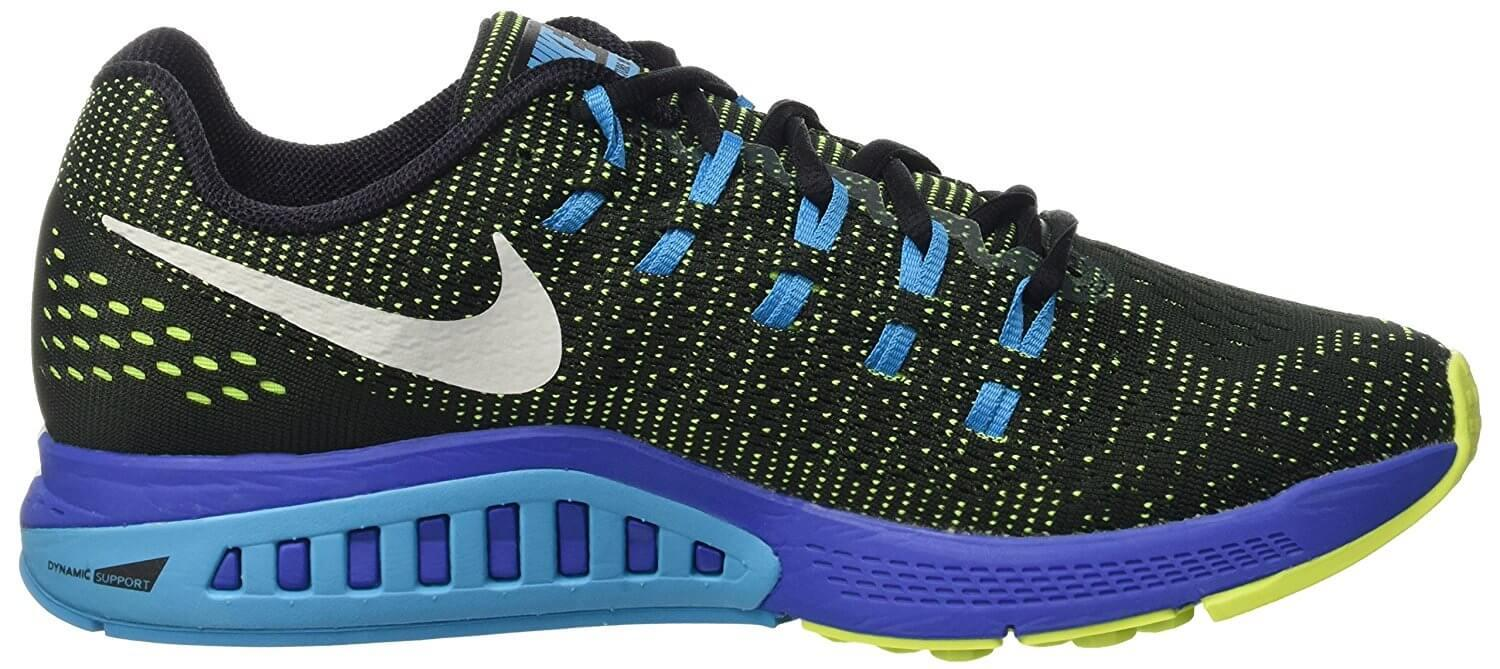 bf79c1d0399 ... The Nike Air Zoom Structure 19 used extremely dense dual-layer  cushioning for the midsole ...