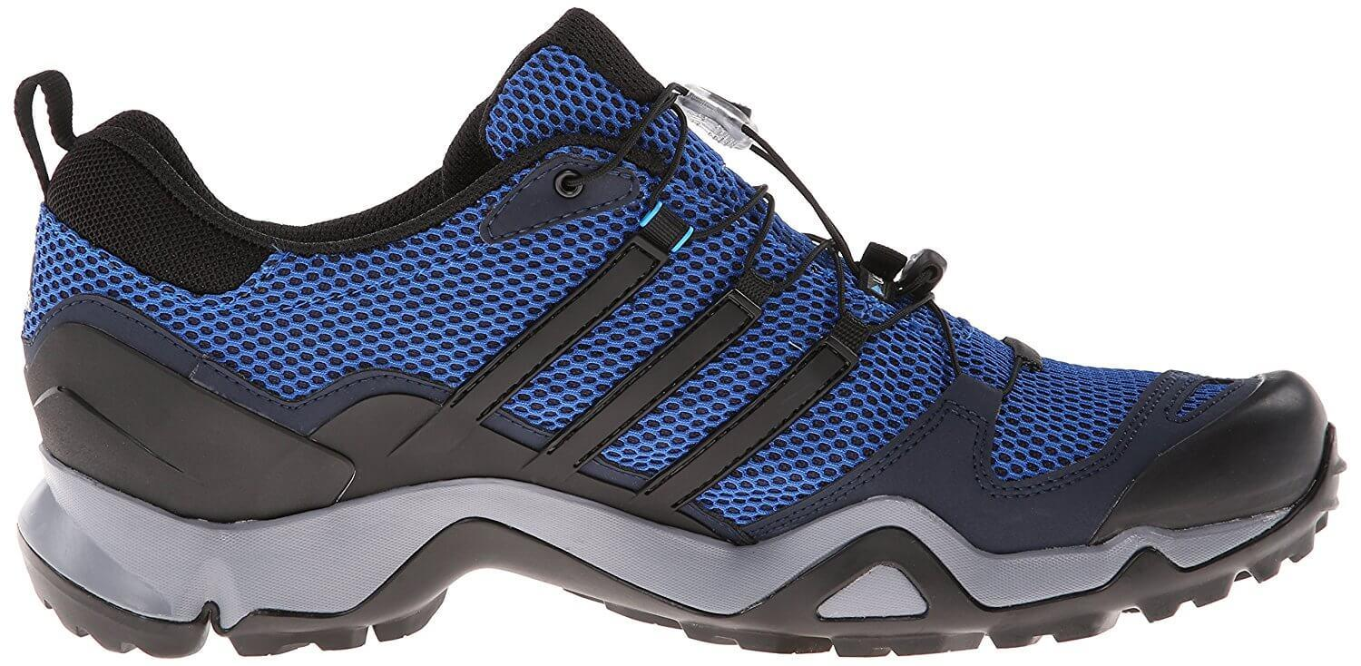 The Adidas Terrex Swift R GTX has a higher heel drop than many trail runners.
