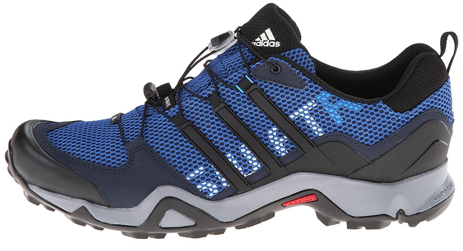 Fashion-oriented runners will appreciate the design of the Adidas Terrex Swift R GTX.
