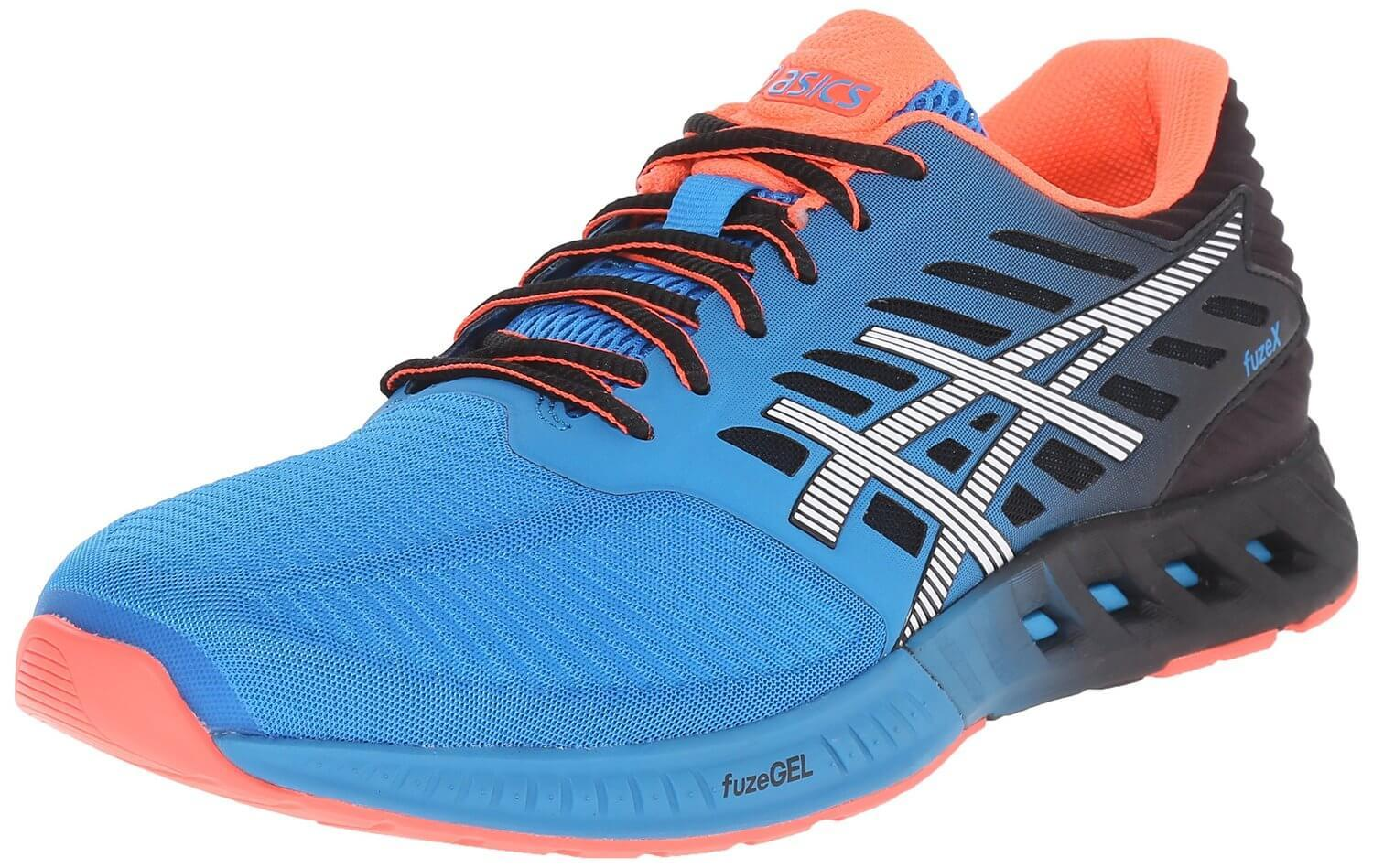 The Asics FuzeX is a fascinating new take on a cushioned running shoe.
