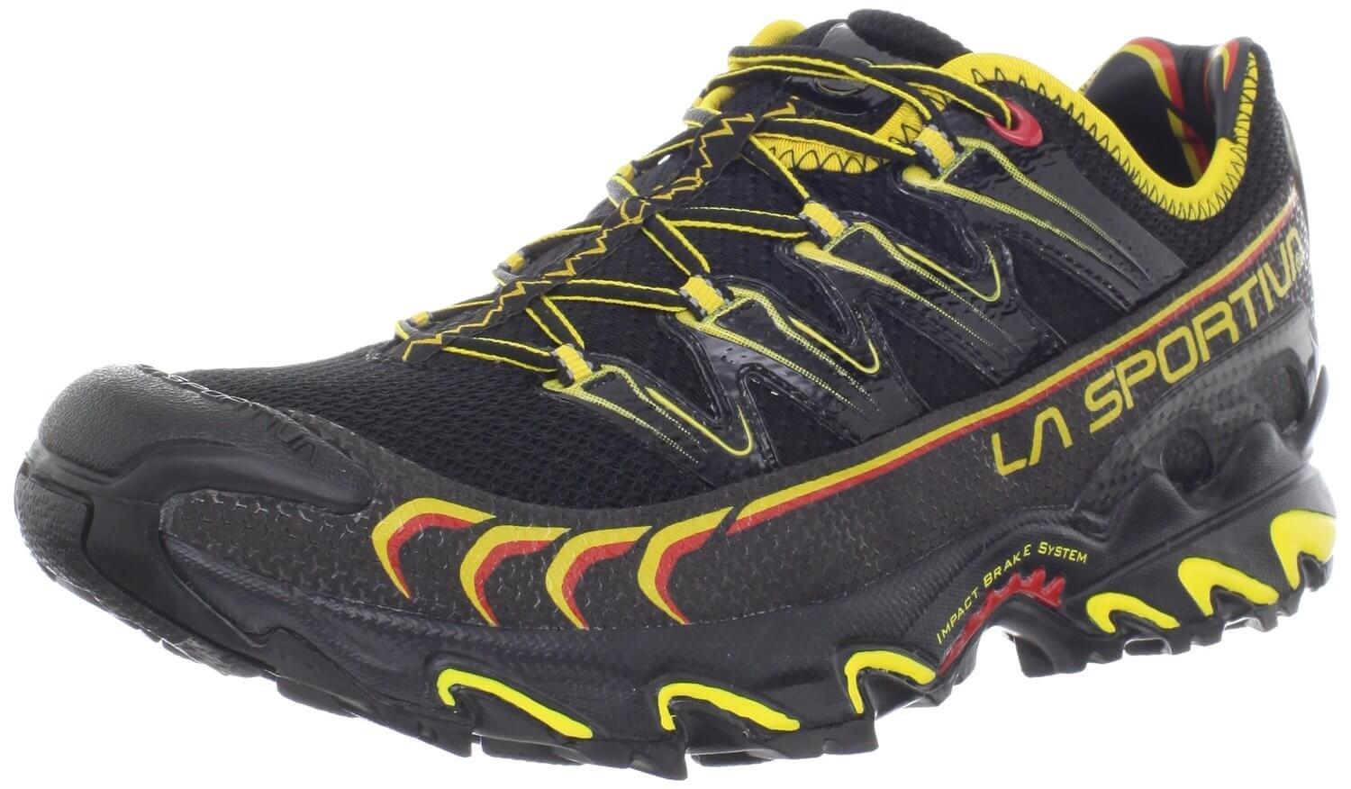 the La Sportiva Ultra Raptor shown from the front/side