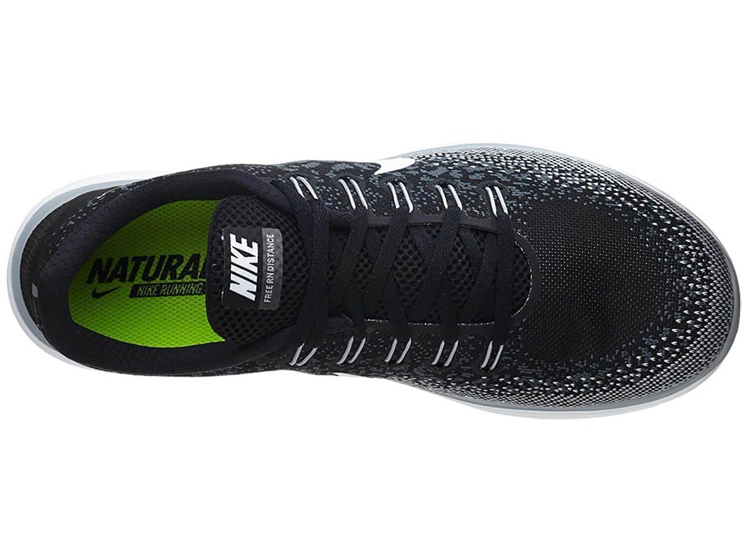 abfac8396f8 A single-layer knit upper on the Nike Free RN Distance helps to keep weight  ...