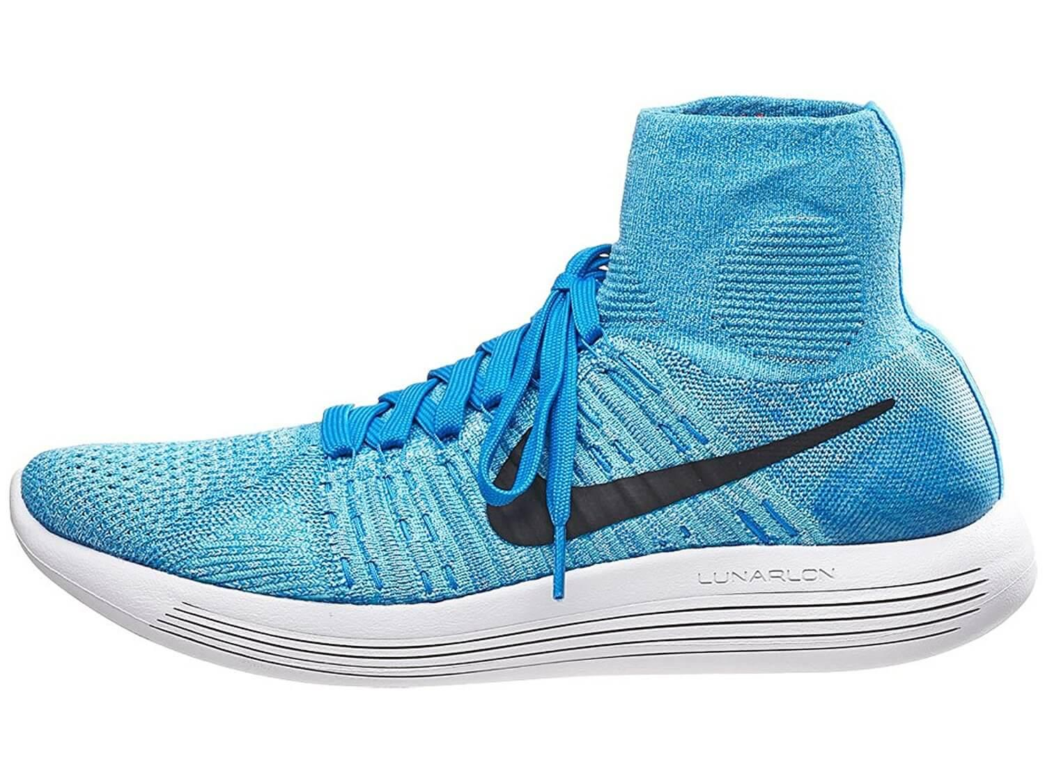 free shipping c4961 72acb The higher ankle covering offers more style options for the Nike LunarEpic  Flyknit.