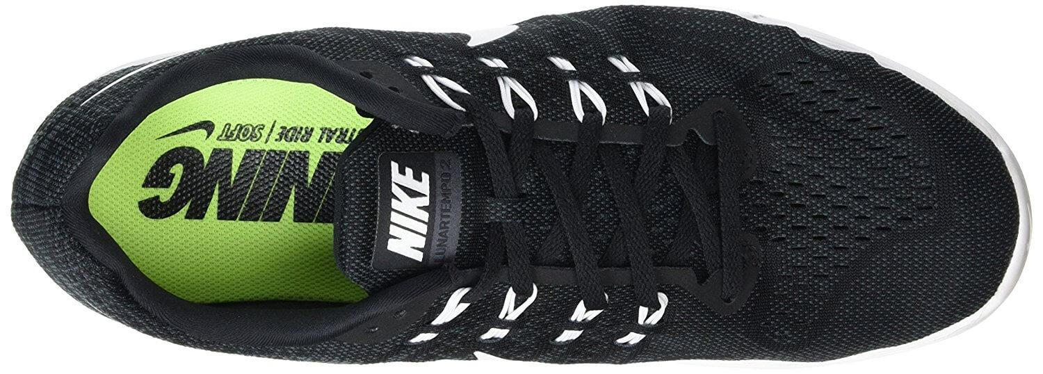 37e2e16a177bab Extra foam in the Nike LunarTempo 2 around the heel and tongue provide  extra comfort.