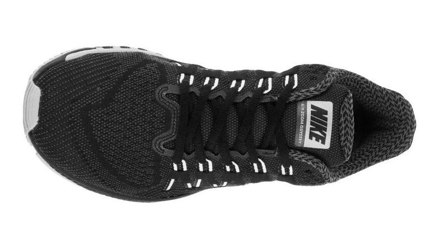Highly ventilated Flymesh material was used for the Nike Air Zoom Odyssey's upper.
