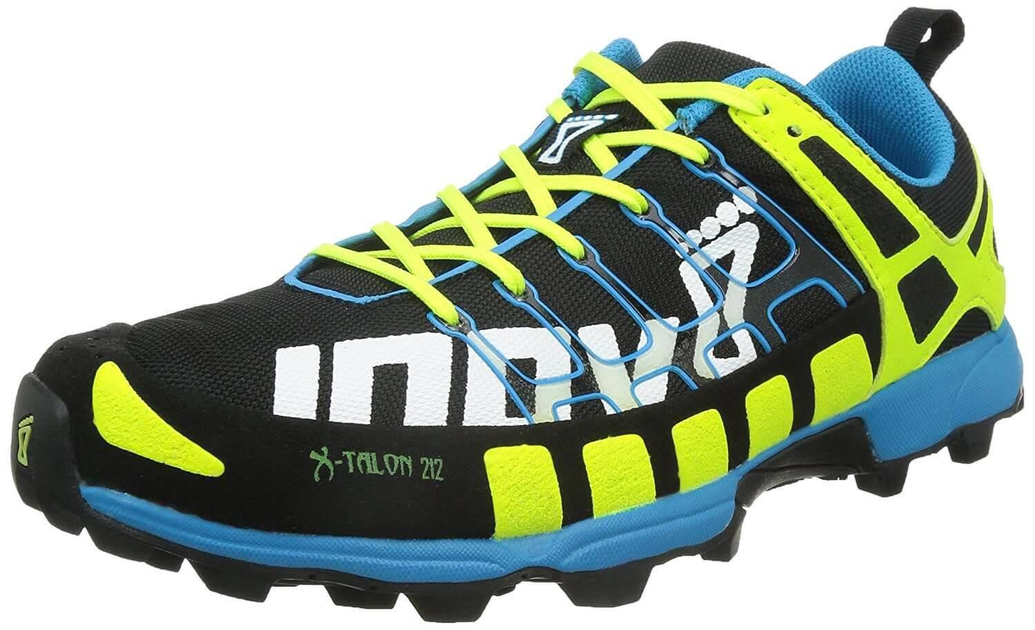 the Inov-8 X-Talon 212 is a dynamic trail runner that can traverse all terrains