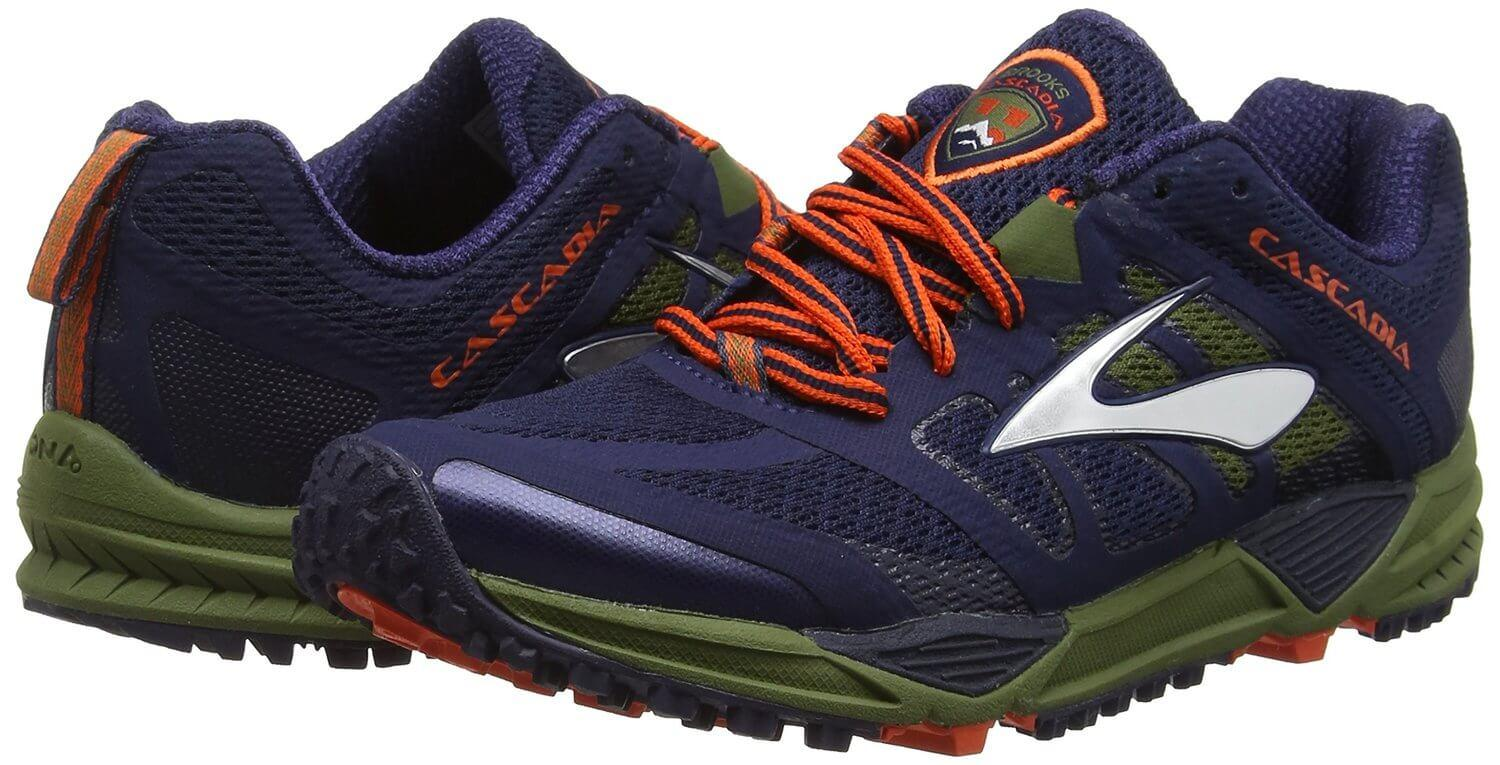 the Brooks Cascadia 11 delivers a comfortable ride and great traction even on slippery surfaces