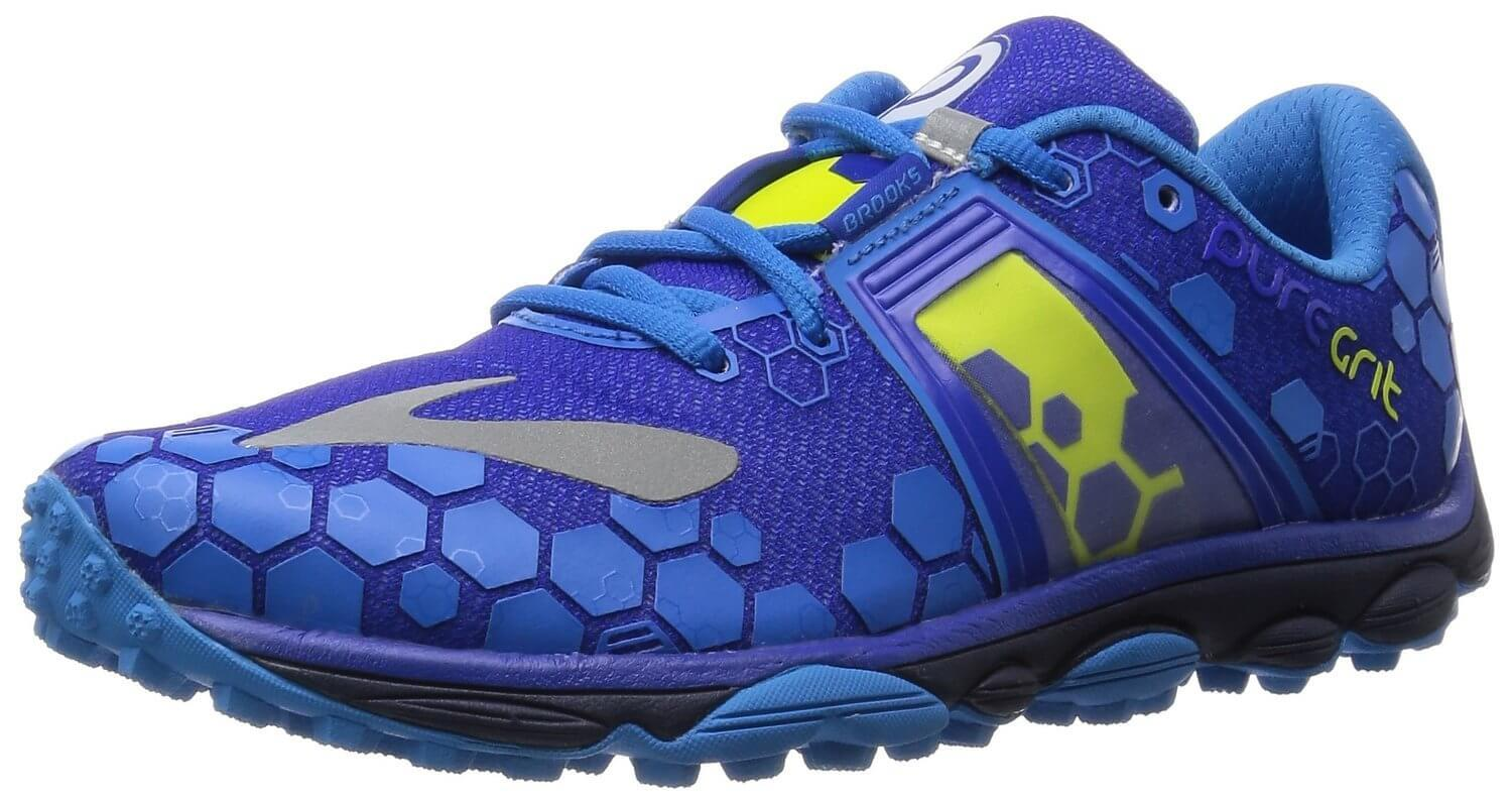 676b61d190246 The Brooks PureGrit 4 are naturalistic and highly comfortable running shoes.