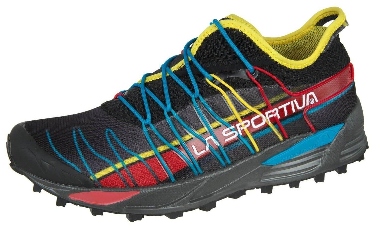 the La Sportiva Mutant offers trail runners a high-performance trail running shoe that has a lot of style