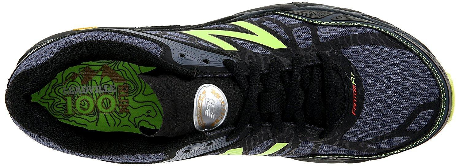 The tongue of the New Balance Leadville v3 is protective without feeling bulky.