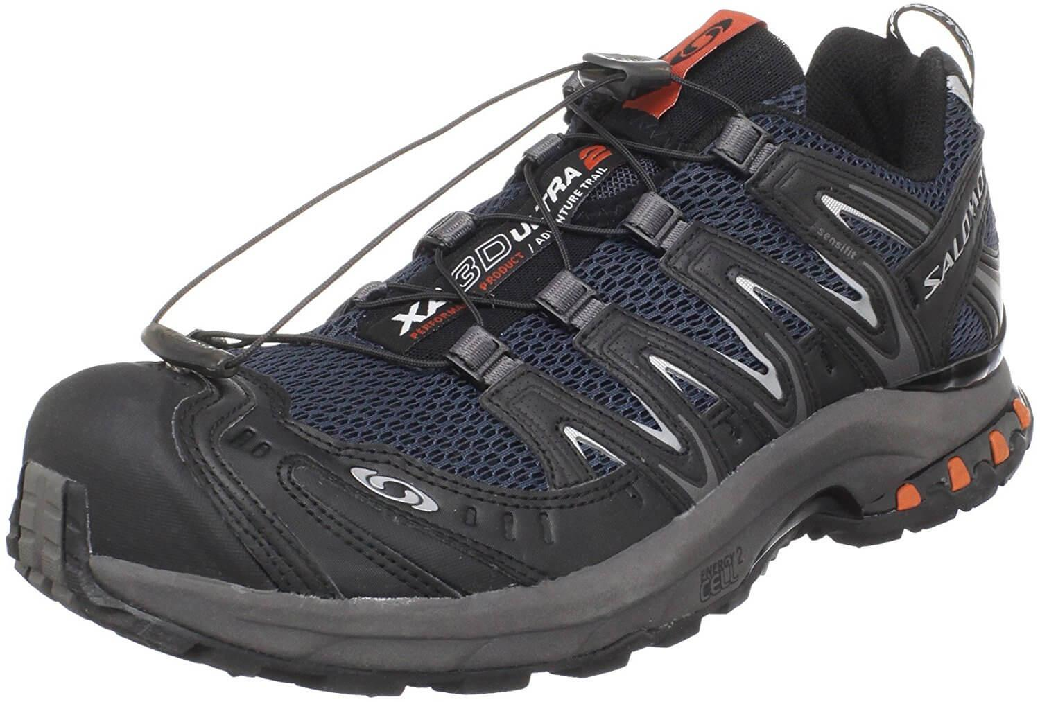 the Salomon XA Pro 3D Ultra 2 GTX is a hardy trail running shoe