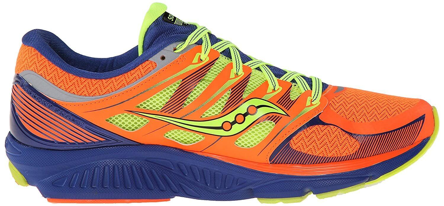 PWRGRID+ cushioning in the Saucony Zealot ISO adds 20% more comfort.