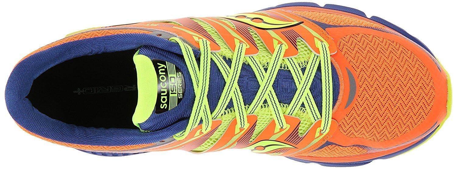 The heel and midfoot of the Saucony Zealot ISO has a very tight and secure fit.