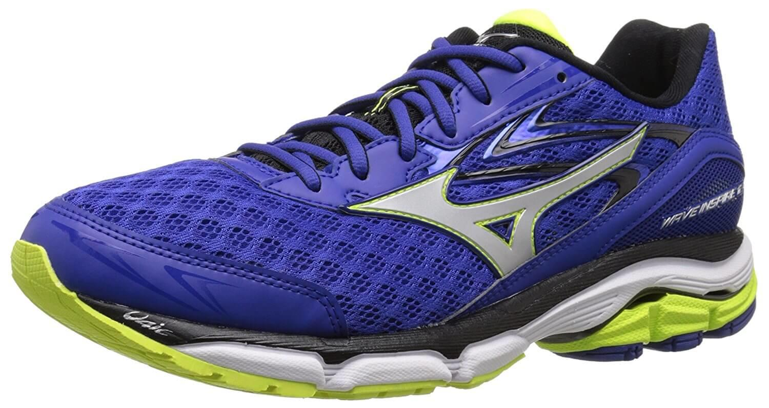 the Mizuno Wave Inspire 12 is a breathable running shoe with a good amount of traction