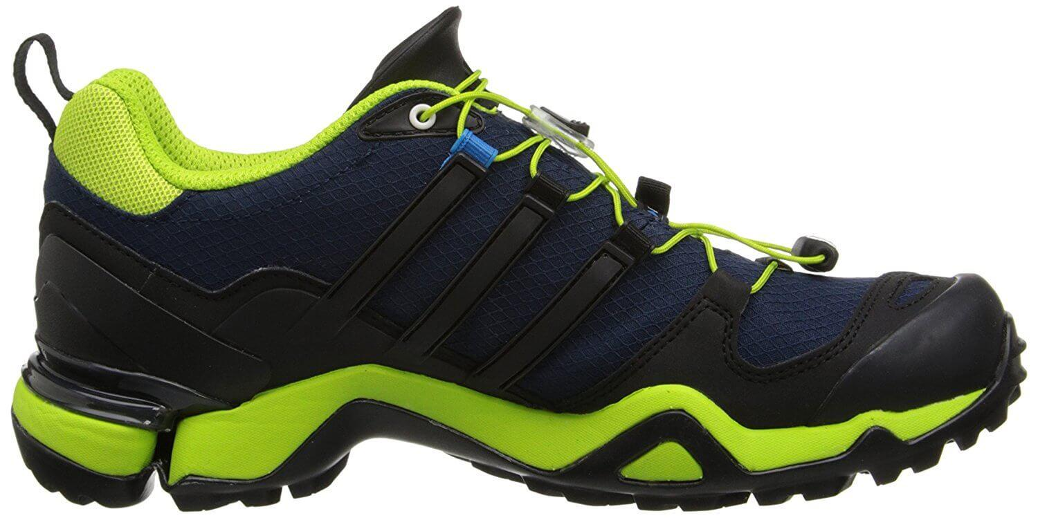 45006163ae674 ... adiPRENE+ midsole material provides excellent shock absorption on the  Adidas Terrex Fast R GTX.