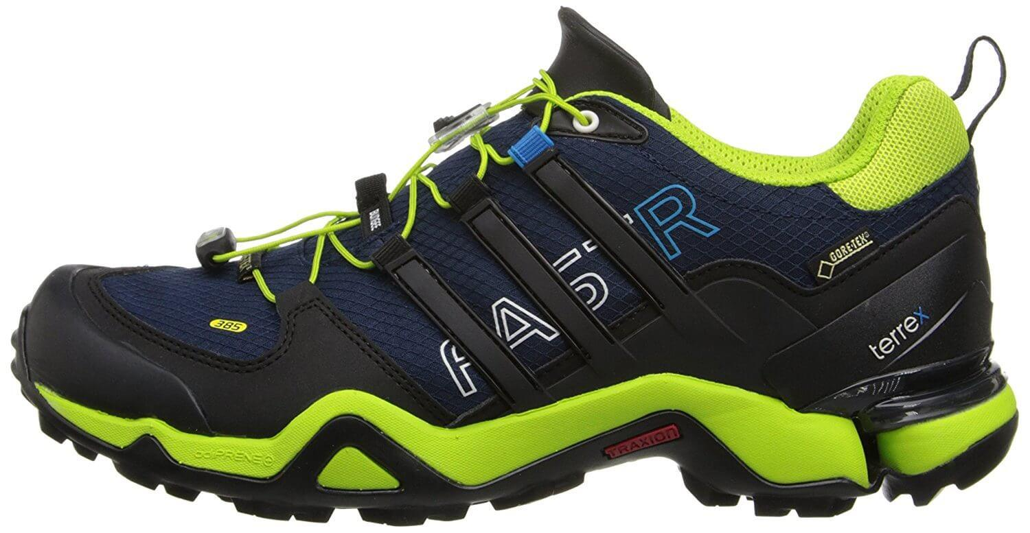 03fd696b6 The Adidas Terrex Fast R GTX comes in a variety of color combinations.
