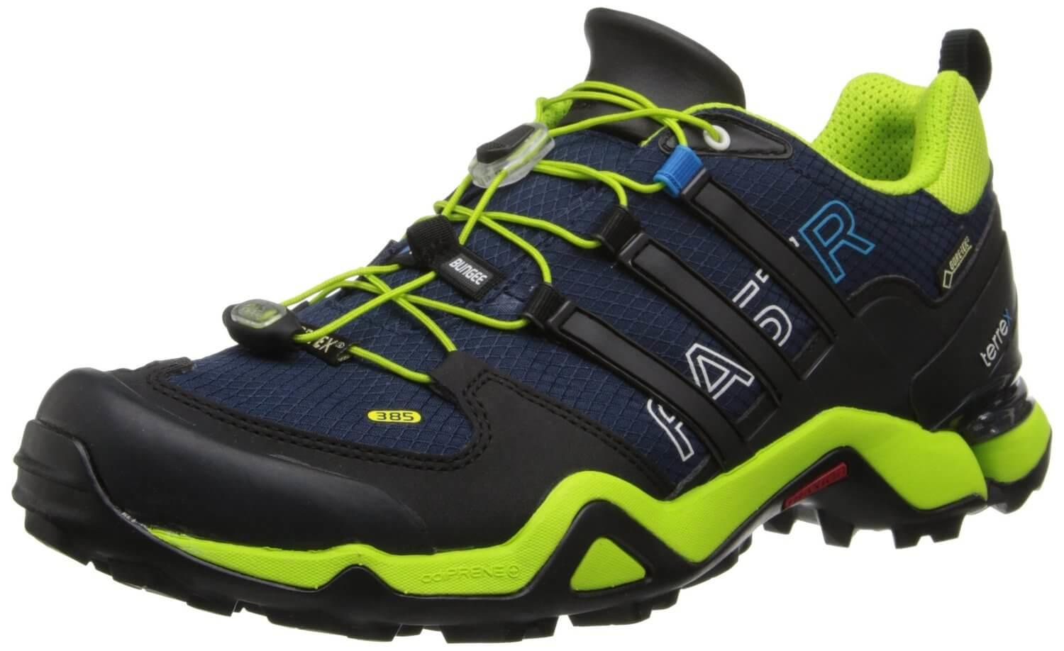 7a04e3542ec The Adidas Terrex Fast R GTX is a shoe designed for use on trails and  mountain ...