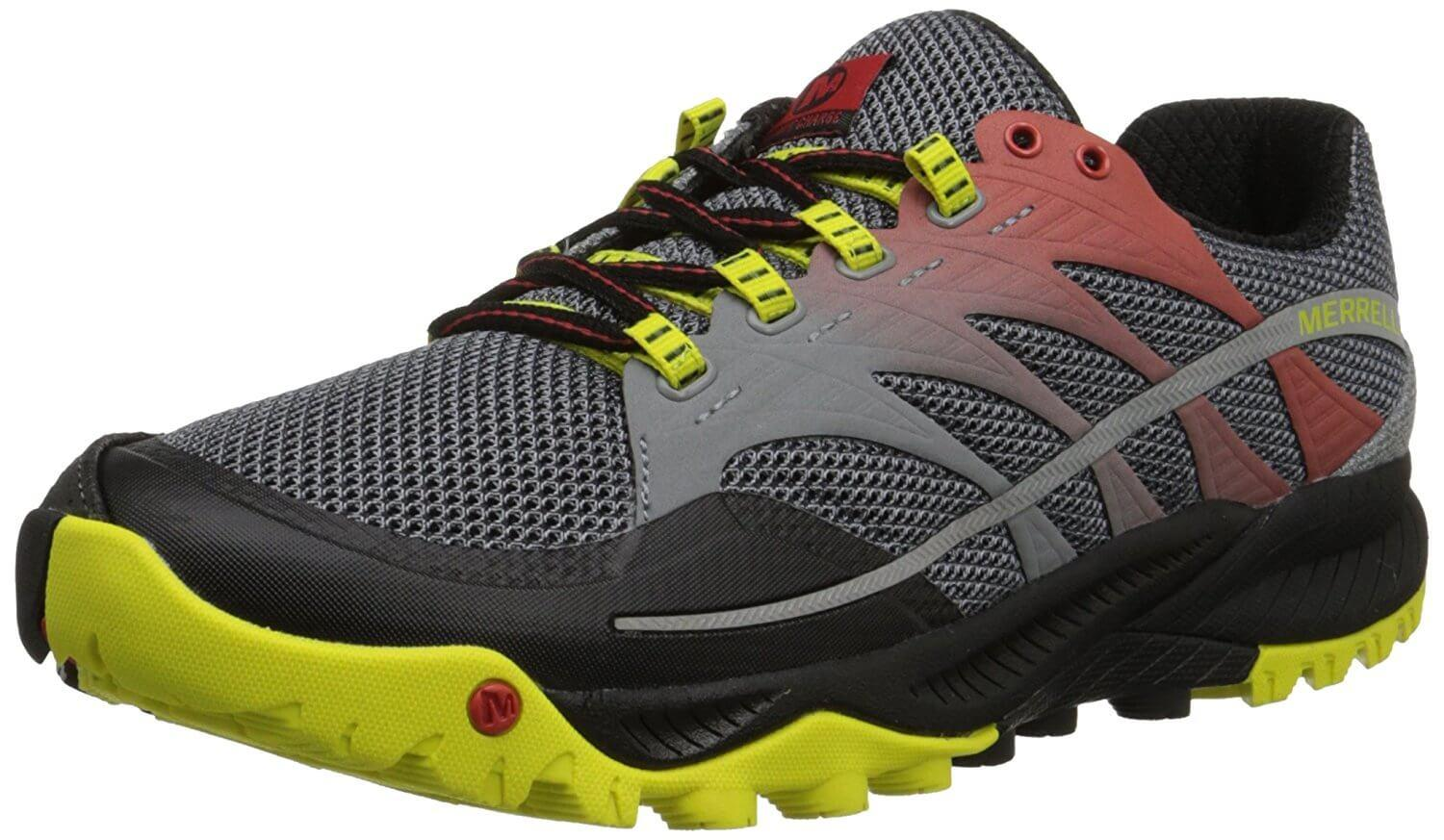 The Merrell All Out Charge is an extremely competent trail shoe.