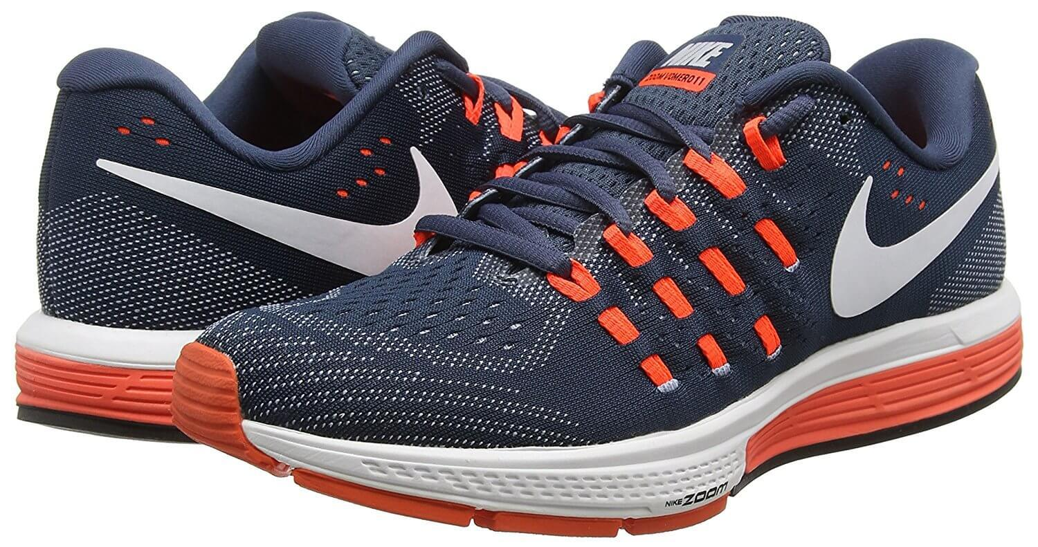 the Nike Air Zoom Vomero 11 is a stylish running shoe that's also appropriate for an everyday sneaker