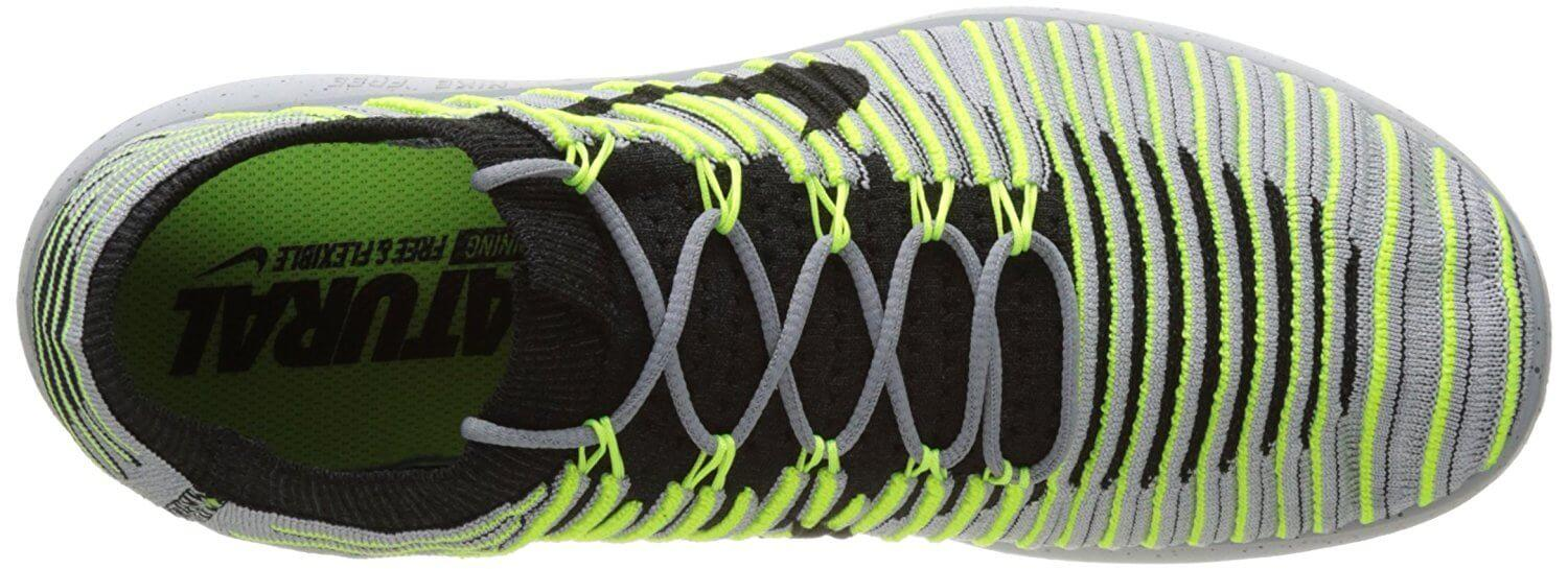 The breathable mesh fabric used for the Nike Free RN Motion Flyknit helps them feel lightweight.